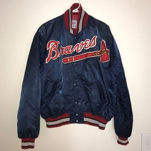 Vintage Atlanta Braves Starter Jacket XL